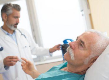 udar niedokrwienny wizyta w szpitalu
