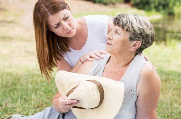 udar słoneczny u osób starszych